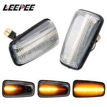 Turn Signal Light Blinker Light LED Car Dynamic Side Marker For Peugeot 306 106 406 806 Expert Partner Signal Lamp A Pair