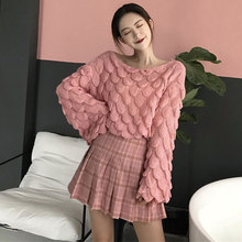 Women's Casual Sexy Off Shoulder Loose Batwing Sleeve Pullover Knit Sweater женское платье aofuli twods off batwing 5xl 8 8l15269a63
