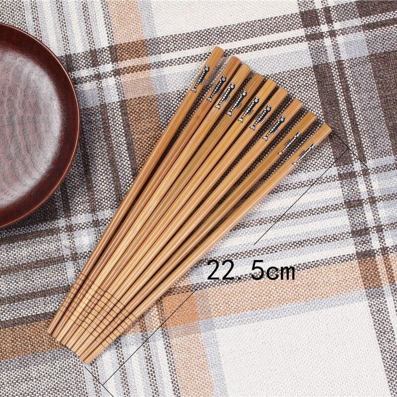 Купить 20 пар ручных палочек для еды из натурального бамбука здоровые