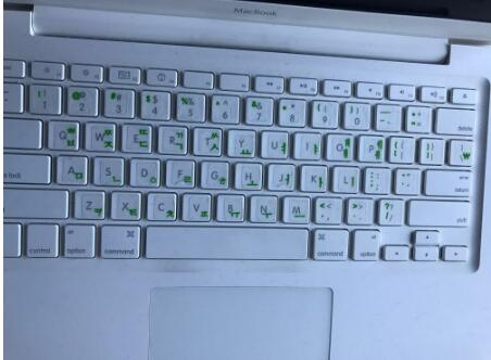 High Quality! Korean keypad label stickers, Eco-environment Plastic Korean keyboard stickers for Laptop/computer-5