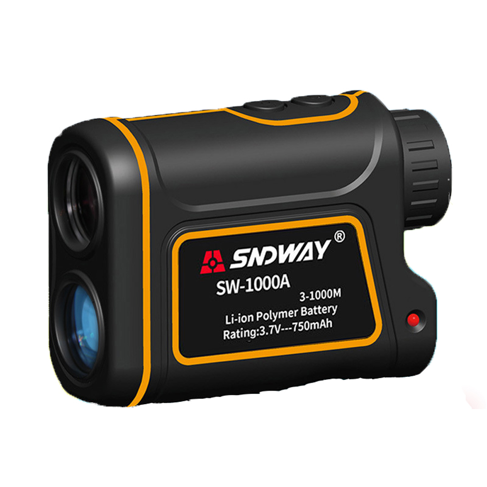 Handheld Outdoor Rangefinder Telescope Rangefinder Automatically Calculates Distance 1000M