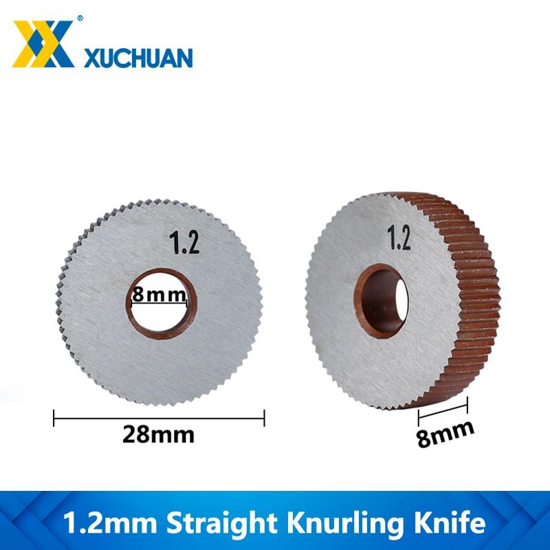 1.2mm Straight Knurling Knife Straight Line Knurling Wheel Inner Hole Embossing Wheel Gear Shaper Cutter Lathe Knurling Wheel