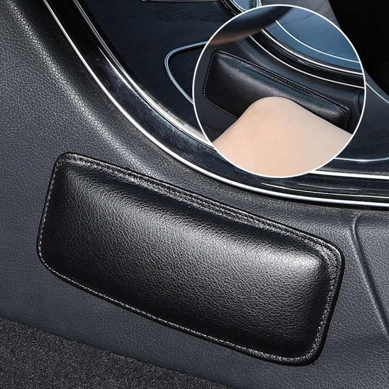 Cojín Universal para Reposabrazos de coche, almohadilla protectora para Reposabrazos de puerta, almohadilla de cuero suave para reposabrazos