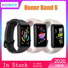 Honor band 6 pulseira relógio inteligente banda 1.47 polegada amoled tela de toque monitor freqüência cardíaca amoled sono nap estresse smartwatch