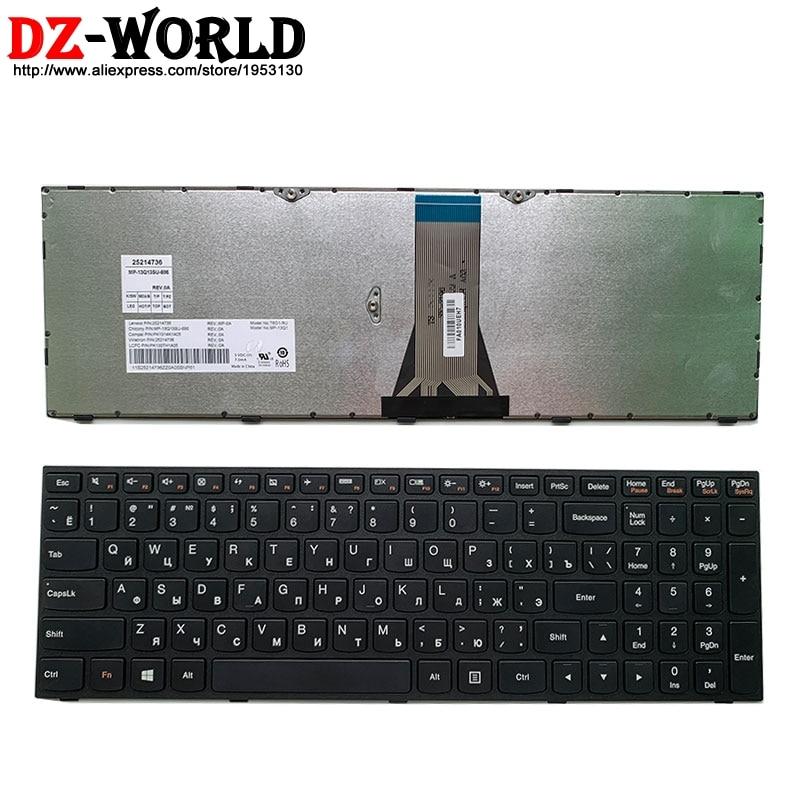 New Original Russian Laptop Keyboard For Lenovo E51-35 80 30 B70-80 B71-80 Z50-70 75 80 Z51-70 Z70-80 Series 25214736 25214766
