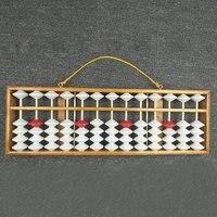 주판 중국어 주판 수학 교육 교사 계산기 교수형 주판 교육 주판 58x19cm 교사