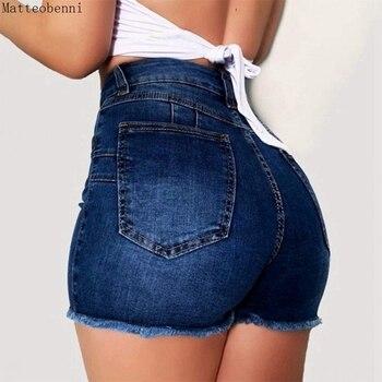 high waisted shorts womens slim denim shorts