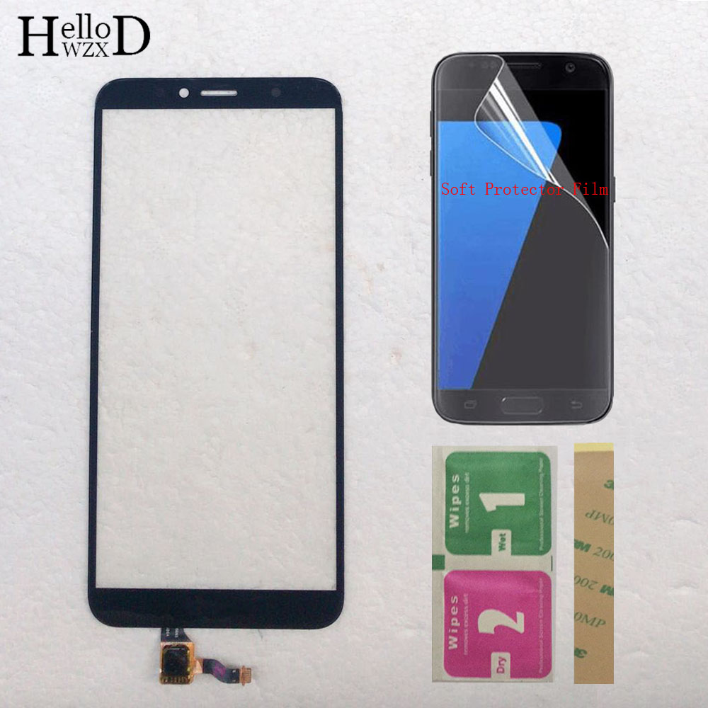 Phone Touch Screen For Huawei Y6 Prime 2018 Touch Screen Digitizer Sensor For Huawei Y6 2018 Touch Panel Protector Film