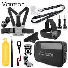 Vamson for  DJI OSMO Action  for Gopro Accessories Kits New Fashion Waterproof Bags for Gopro Hero 7 6 5 for Xiaomi Yi 4K VS17