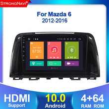 Auto Radio Multimedia 2 din android 10 4 + 64G para Mazda 6 3 Ultra Atenza 3, 2012, 2013, 2014-2017 navegación GPS WIFI BT SWC carplay(China)