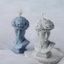 Candle Mold Creative Silicone David Perfume Candle Mold Fragrance Candle Making Wax Mould Plaster chocolate soap mold cake mold