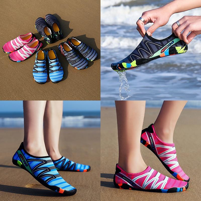 Water Shoes Beach Sneakers Aqua Shoe Neoprene Swimming Diving Surfing Snorkeling Anti Slip High Strength Softness For Men Women