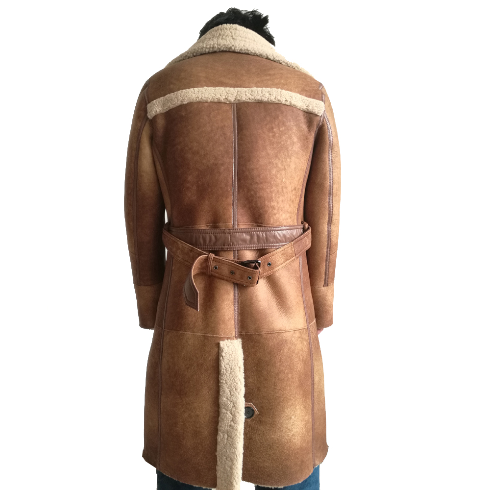 H0d95248a5fbf41b2b5fa818070fc541c4 Fashion Real Sheepskin Fur Coat Genuine Leather Male Formal Winter Long Thick Jacket Sheepskin Shearling Men Fur Coffee Coat 4XL