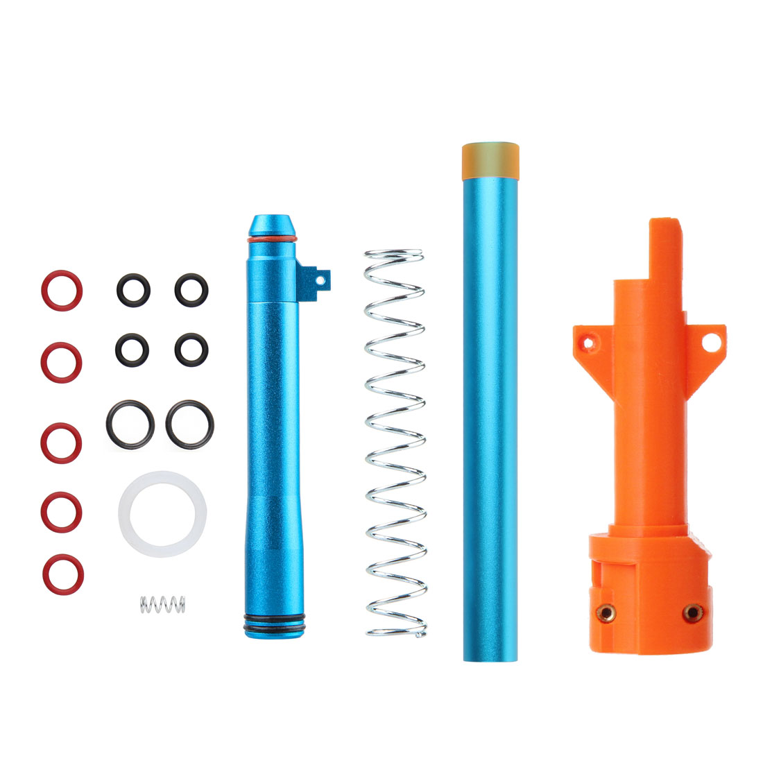 New Hot W0440 Short Darts Kit For Nerf Quick Sight Blaster / Moidfyrnerf Delta Trooper - Connector Version