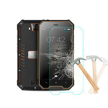 Full Cover Full Glue Tempered Glass For Blackview BV4000 Protective Film 9H Screen Protector For Blackview BV4000 Pro Shield(China)