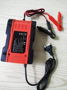Image 3 - Foxsur – chargeur Intelligent de batterie au Lithium 12V/24V 6amp, pour voiture et moto, automatique, 7 étages, plomb acide