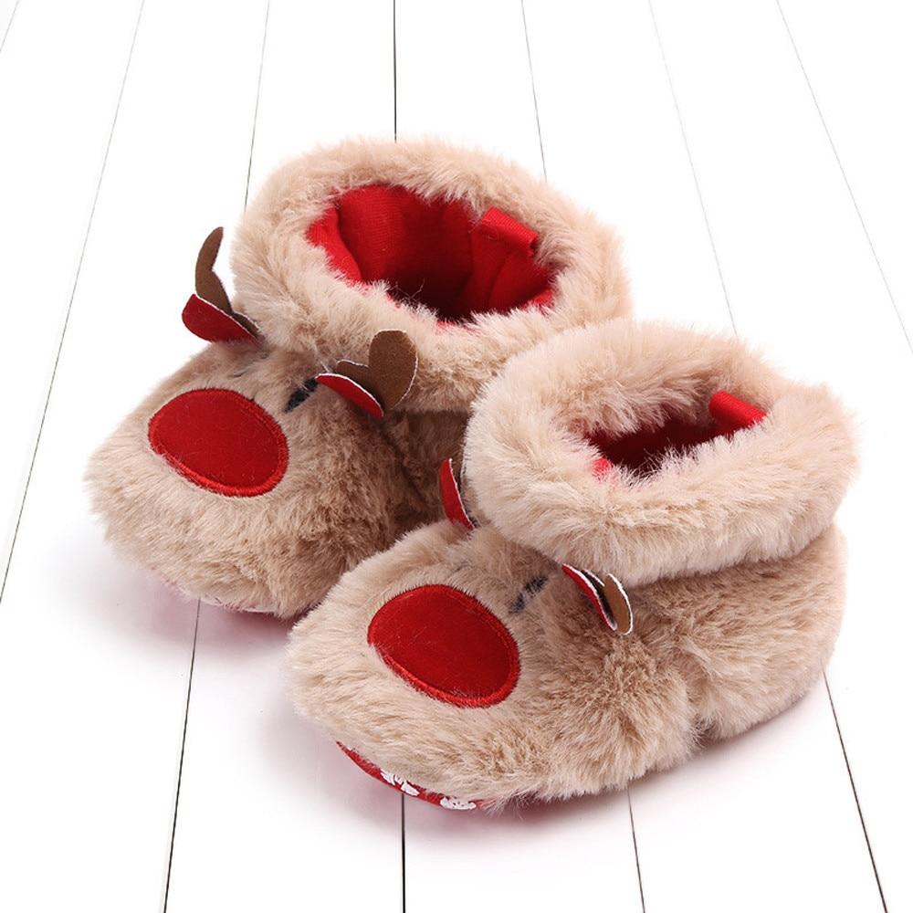 deer baby shoes