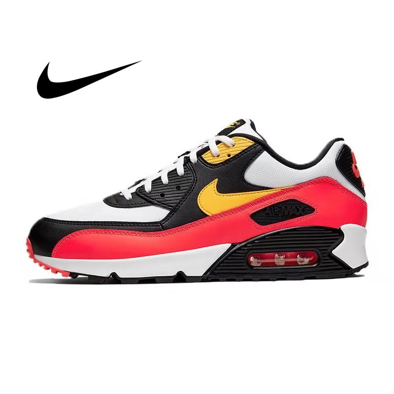 Original Authentic NIKE AIR MAX 90 ESSENTIAL Men's Running Shoes Outdoor Sneakers Breathable 2019 New Color Matching