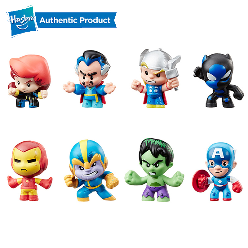 hasbro-font-b-marvel-b-font-mini-super-heros-boite-aveugle-serie-avengers-iron-man-captain-america-hulk-noir-panthere-tonys-raytheon-modele-boite