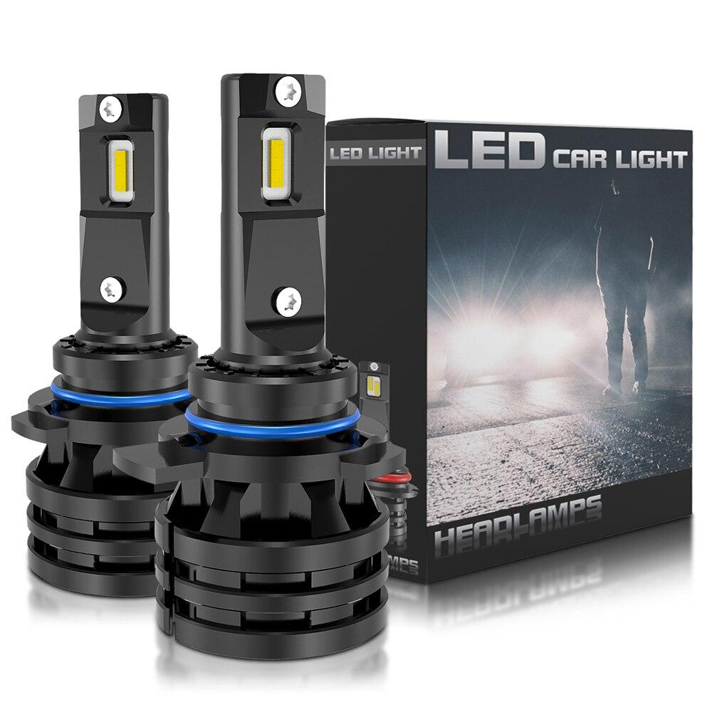 2x NEW 9012 9007 HB3 HB4 H4 H7 H8 H11 H1 LED Car Headlights Bulb Hi-Lo Beam 16000LM CSP Chips Auto Headlamp LED Car Light 6000K
