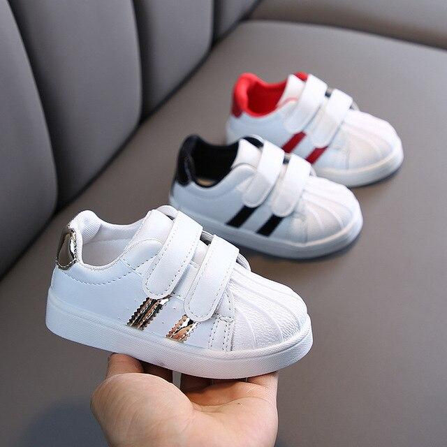 Jongens schoenen - Wit - Sportschoenen kinderen