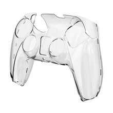 Para PS5 DualSense piel transparente PC cubierta controlador CaseElectronic Machine Play Station 5 accesorios de controlador