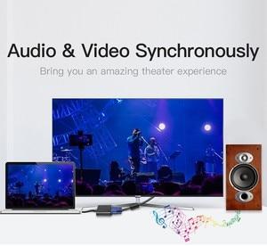 Image 5 - Hannord hdmi vgaアダプタhdmi vga変換アダプタ1080 1080p hdオスメスアダプタビデオオーディオpcラップトップ、タブレット、tvボックス