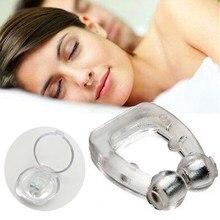 1pc magnético anti ronco nasal dilatador parar snore nariz clipe dispositivo fácil respirar melhorar o sono para homem/mulher bandeja dormir