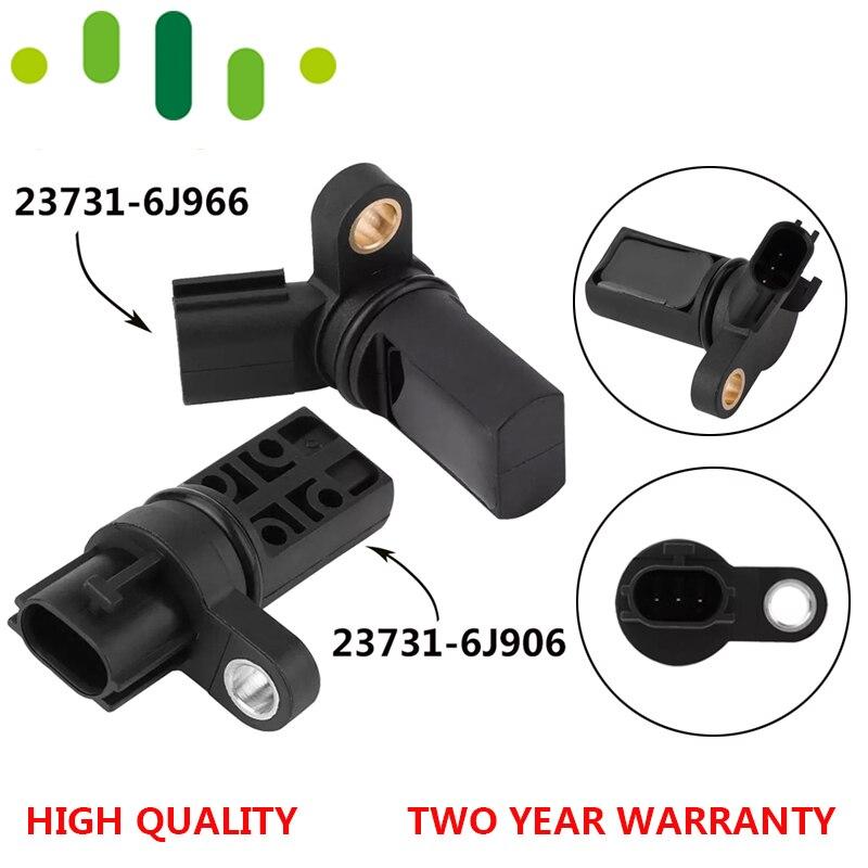 2pcs Camshaft /& Crankshaft Position Sensors Left /& Right L/&R For Infiniti Nissan