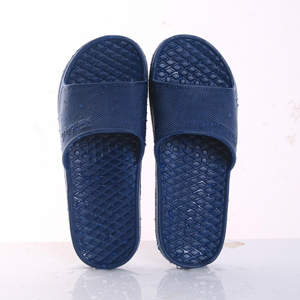 Unisex Home Slippers Summer Indoor Floor Non-slip Slippers Couple Family Women and Men Hotel Bathroom Bath Sandal Slippers 6