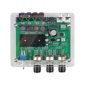 Image 4 - GHXAMP TPA3116D2 80W * 2 wzmacniacz Stereo karta Audio TPA3116 wzmacniacz cyfrowy dźwięk przedwzmacniacz Tone wysokiej mocy DC12 24V 1PC