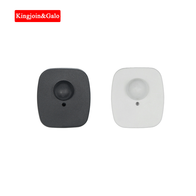 Special Rate Black Or Customized Color Clothing Prevent Shoplifting EAS Hard Tags Mini Square RF Hard Tag 8.2 MHz Security Tag