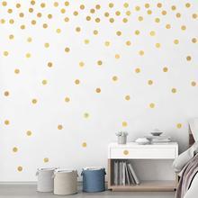 20*30cm colorful circle wall decals bedroom kids room baby nursery home decorations vinyl stickers diy wallpaper art
