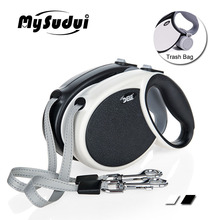 MySudui 5M 7M Retractable Dog Leash For Nylon Automatic Leashes Dogs Running Lead German Shepherd
