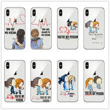 Docter Greys Anatomy Youre My Person Phone Case COVER For IPhone 5 5s SE 6 6s 7 8 PLUS X MAX XR XS shell coque