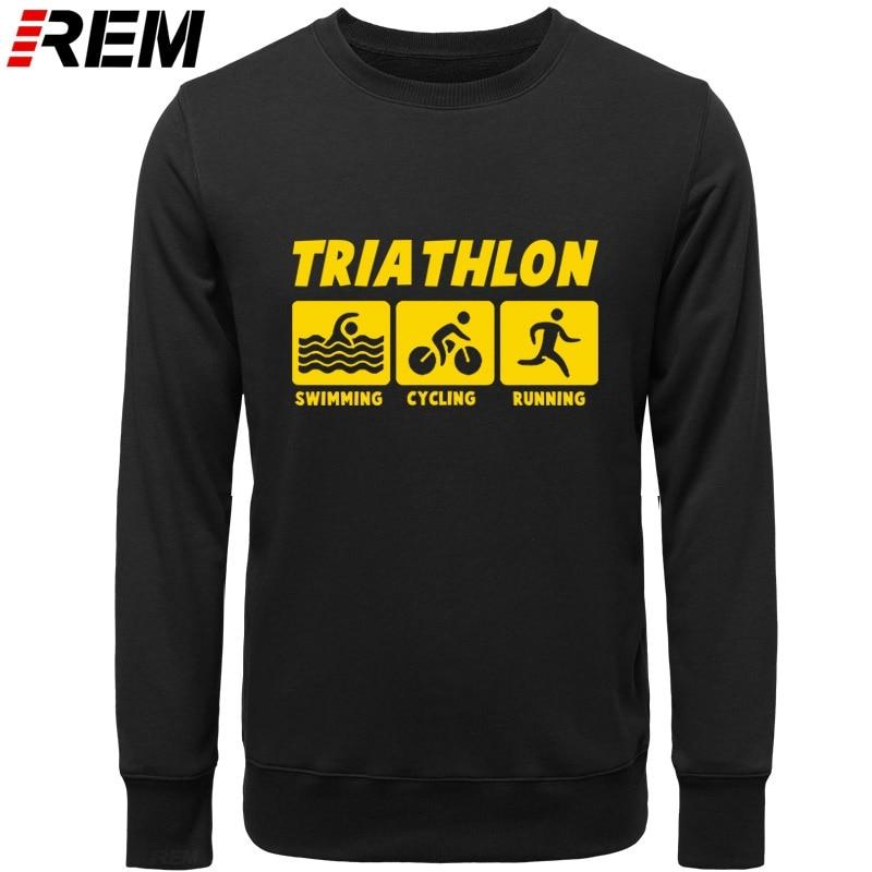 Image 4 - REM New Men Casual Hoodies Triathlon Best Cotton O Neck Long Sleeve Streetwear Mens Sportswear Hoodies, SweatshirtsHoodies & Sweatshirts   -