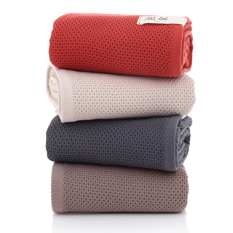 70x140cm Microfiber Soft Cotton Absorbent Towel Quick-Dry Large Bath Beach Towel