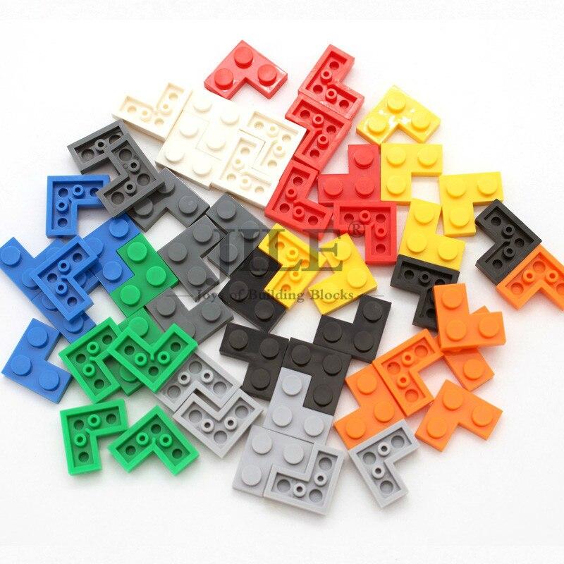 LEGO 2x2 ORANGE INVERTED SLOPE BRICKS BULK LOT OF 50 PIECES FREE SHIPPING