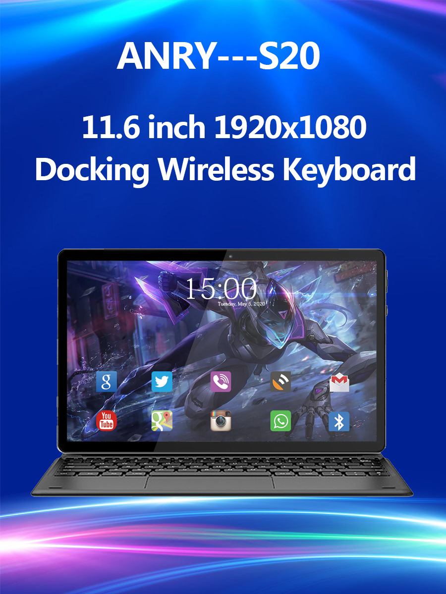 Android Tablet In-Stock Deca-Core Anry S20 1920x1080 X25 MTK6797T Pc 8000mah IPS Ce 4G