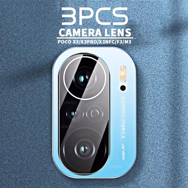 Protective Glass Cover for Xiaomi Poco F3 X3 Pro NFC M3 Clear Transparent Case on Pocophone Pocco Poko Poco X3Pro X3NFC M F 3