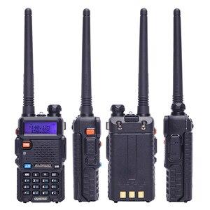 Image 3 - 2 шт. реальная 5 Вт/8 Вт Baofeng UV 5R рация UV 5R мощная Любительская любительская радиостанция CB UV5R двухдиапазонный приемопередатчик 10 км Интерком