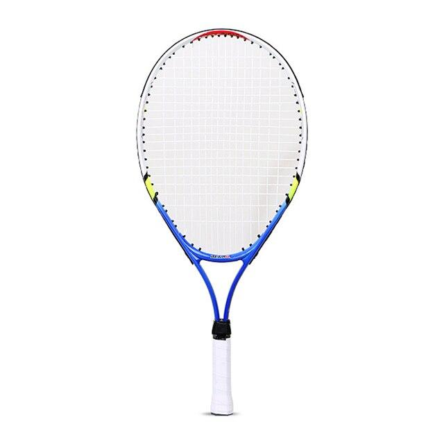 Kids Junior Children Sports Tennis Racket Aluminum Alloy PU Handle Tennis Racket YS BUY