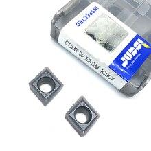 20PCS CCMT09T308 SM IC907 Externe Draaigereedschappen CCMT 09T308 Carbide insert Draaibank cutter Tool Tokarnyy draaien insert