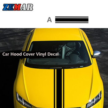 Car Hood Stickers Vinyl Racing Sports Decal for BMW G20 E92 E30 E34 X3 E83 E87 F25 X6 E71 F11 E46 COUPE E38 F22 F34 E61 M4 E65 image