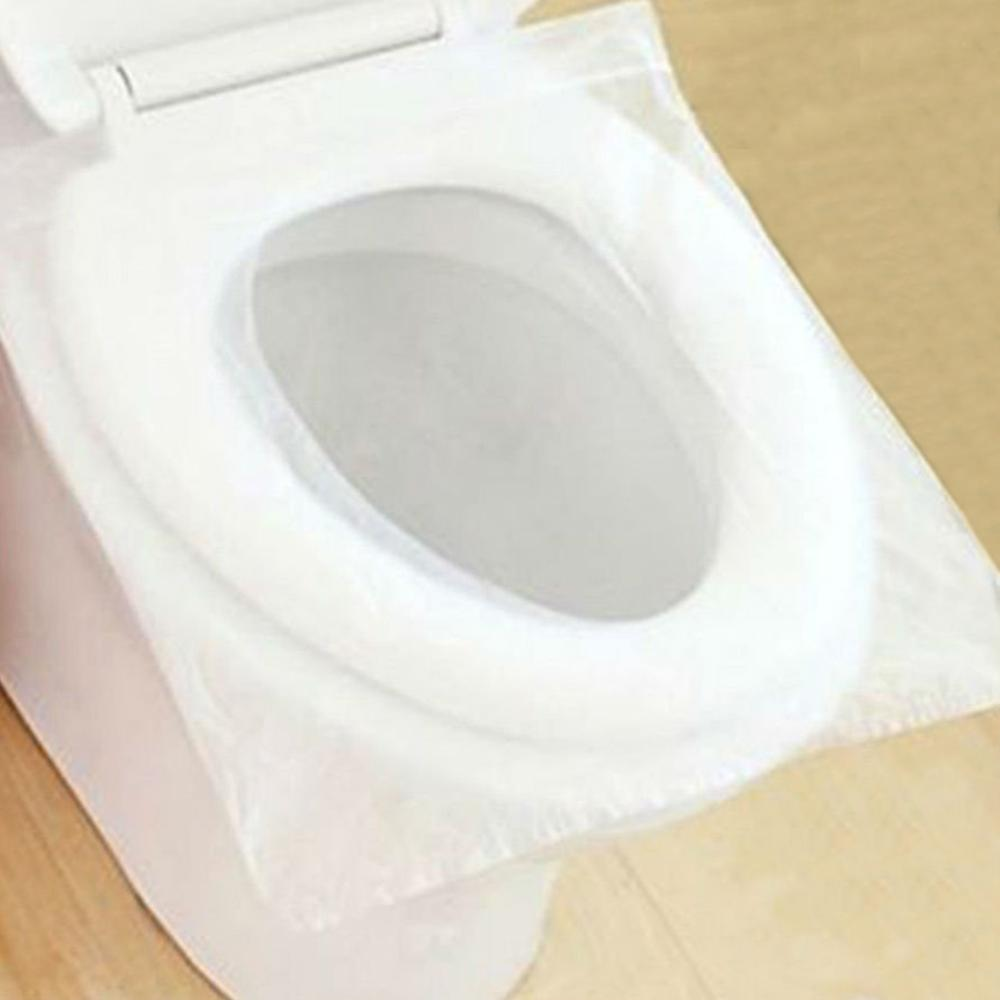 Portable Disposable Paper Toilet Seat Covers For Travel Waterproof Antimicrobial Maternal Disposable Toilet Mat Sanitary Paper