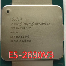 Intel E5 2690 V3 Processore SR1XN 2.6Ghz 12 Core 30MB Socket LGA 2011-3 Xeon CPU E5-2690V3 2690V3