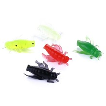 50Pcs Soft Cricket Lures Fishing Bait Artificial Insects For Bass Perch Catfish And Freshwater Wobble Lure