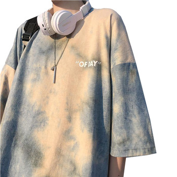 Tie Dye T Shirt Women Summer Tops Casual Short Sleeve Ladies Tshirts Harajuku O-neck Female T-shirts Streetwear Fashion Tshirt - discount item  35% OFF Tops & Tees