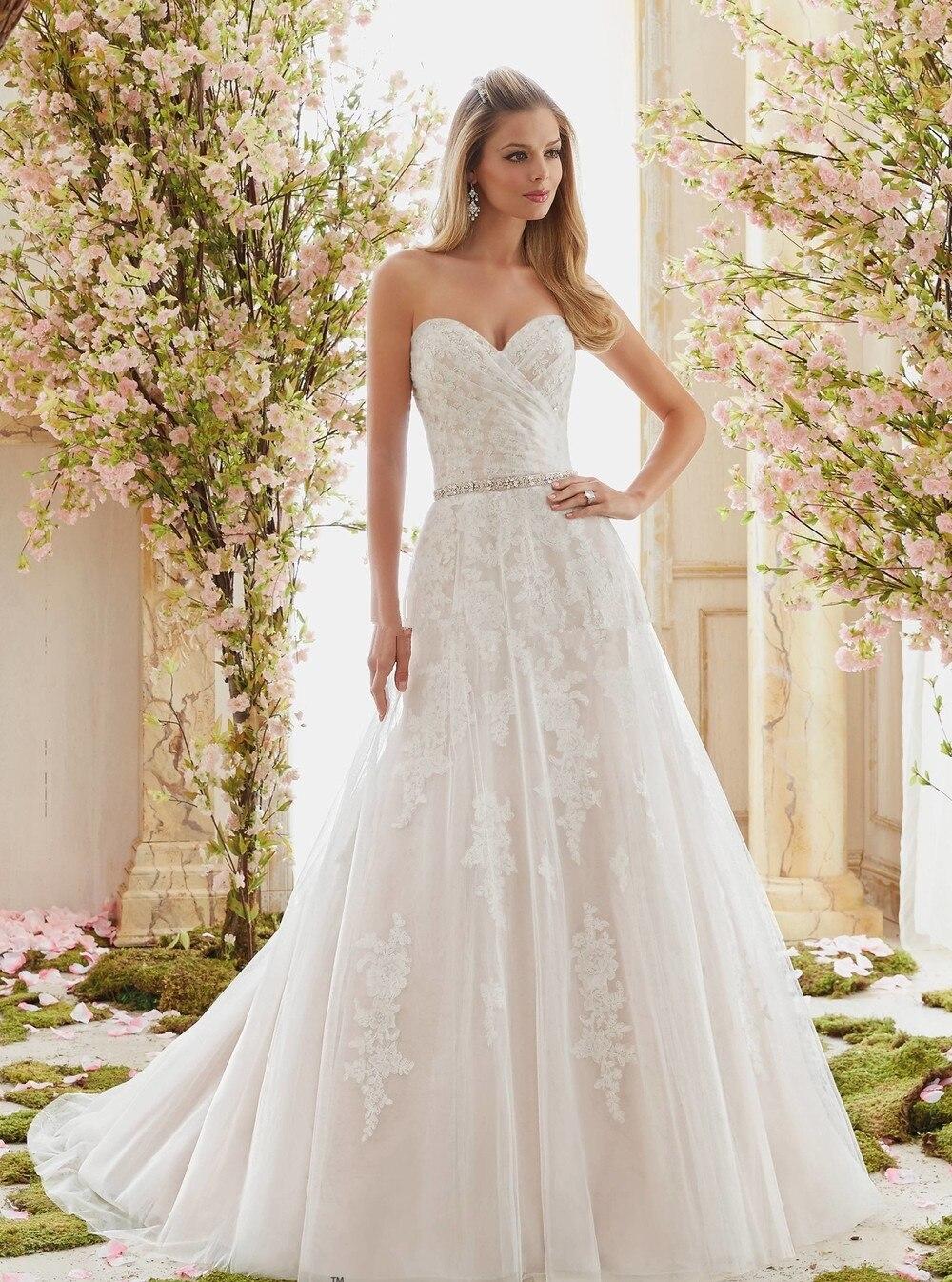 Vestidos De Novia Sweetheart Beach WEdding Dresses 2016 Robe De Mariage New Boho Lace WEdding Dresses Simple Vestido De Novia