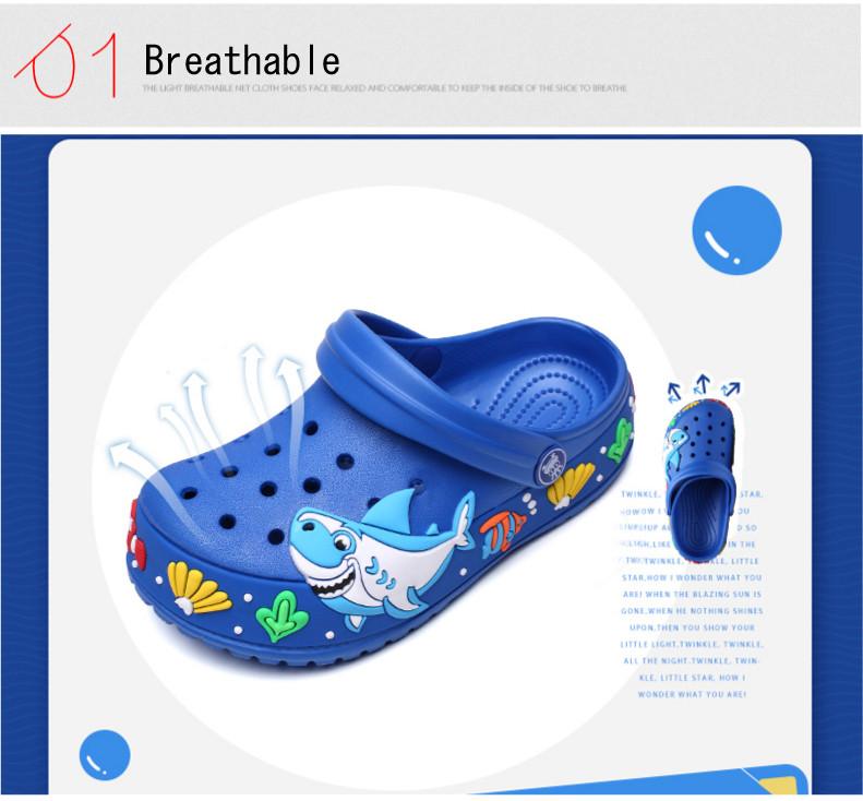 2017 New fashion children garden shoes children cartoon sandal babies summer slippers high quality kids garden children sandals (3)